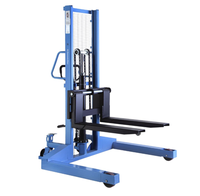 Pallet stacker with pallet chassis - 1000 kg load capacity