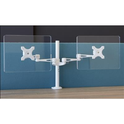"Dual Monitor Arm, for 28"" Monitors"