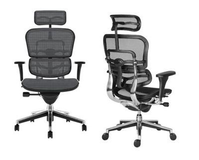 Antares Ergohuman PDH All Mesh Office Chair, Black