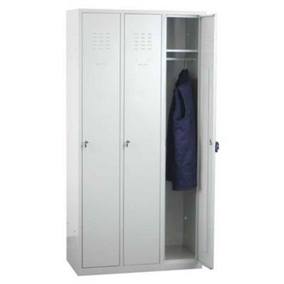 Metal Wall Lockers - Built on Demand, 3-Door; Large