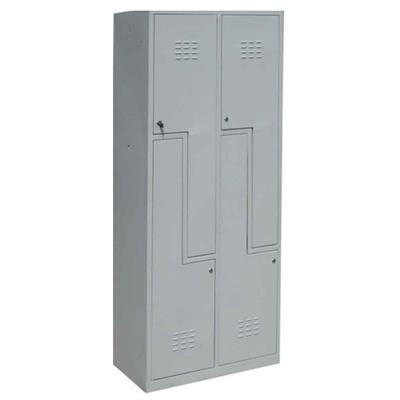 Metal Wall Lockers - Built on Demand (Multiple Variants), 2-Lockers; S-Door