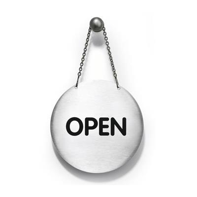 Pictogram: ''OPEN/CLOSED'' 130 mm, english neutral