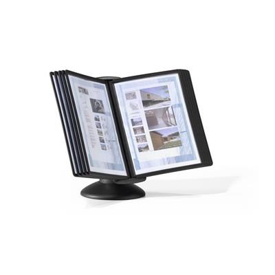 Durable SHERPA®  MOTION Display System, 10 pannels, graphite