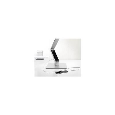 Durable LUCTRA LINEAR TABLE PRO with base 9215 Desk Lamp, Aluminium