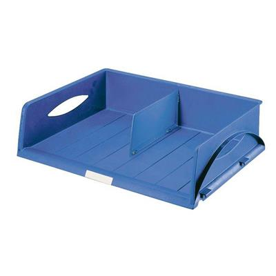 Leitz 5232 Sorty Document Tray (Pack of 6 trays), Blue