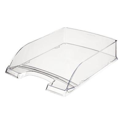 Leitz 5226 Plus Document Tray (Pack of 5 trays), Clear
